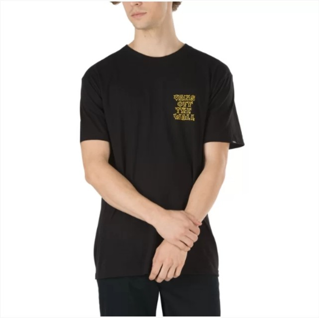 Camisa Vans - Gnarcat SS Black  - No Comply Skate Shop
