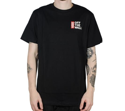 Camisa Vans - Off The Wall Black  - No Comply Skate Shop