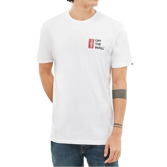 Camisa Vans - Off The Wall White  - No Comply Skate Shop