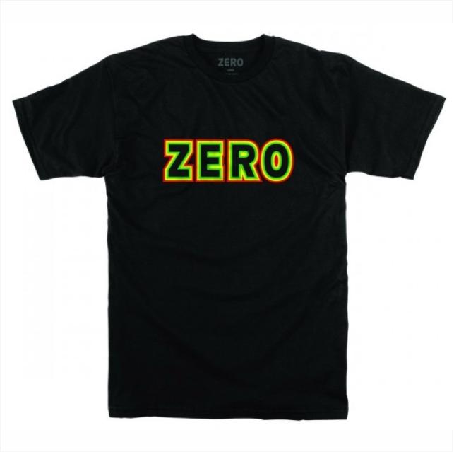 Camisa Zero - Rasta Bold  - No Comply Skate Shop