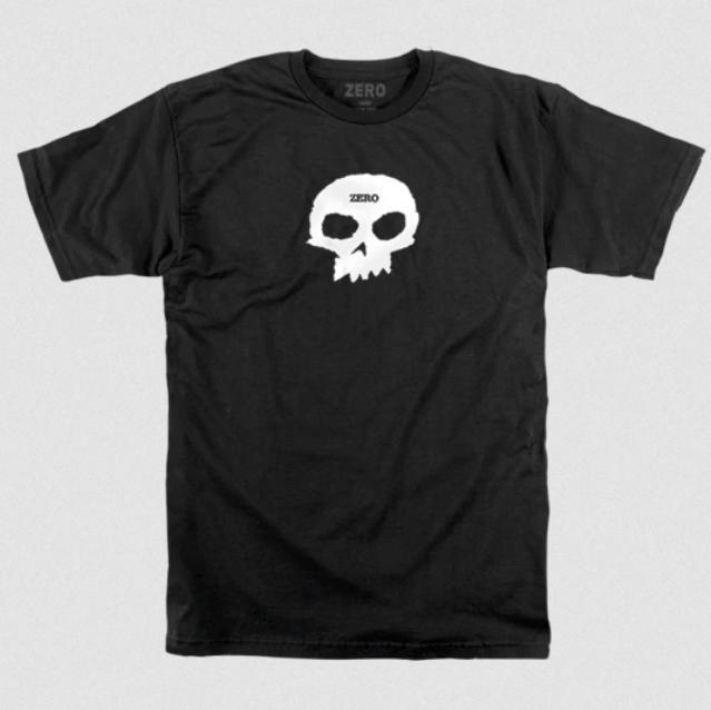 Camisa Zero - Single Skull  - No Comply Skate Shop