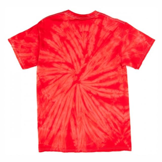 Camisa Zero - Tie Dye Red Skull Infantil  - No Comply Skate Shop