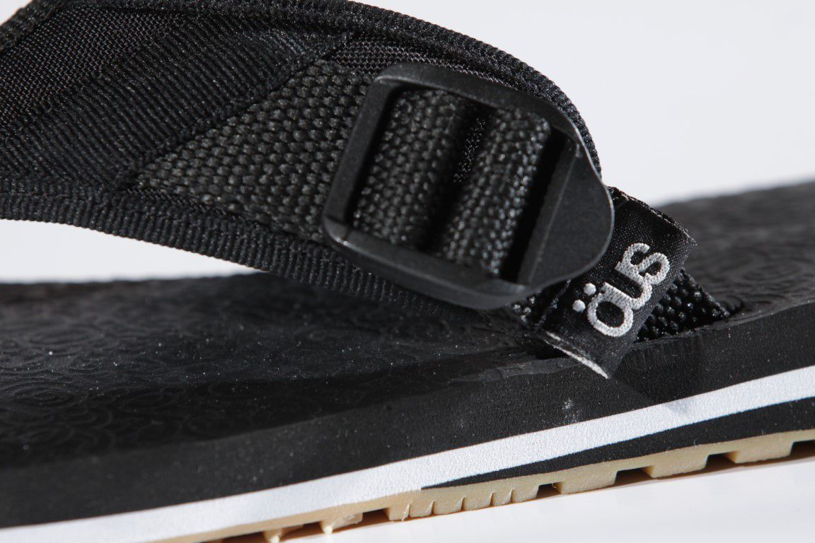 Chinelo Öus - OAMF Strap Preto/Latex  - No Comply Skate Shop