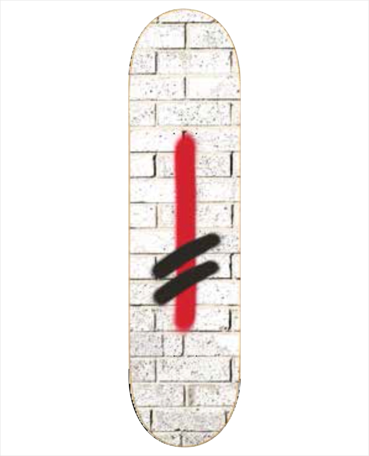 "Shape Deathwish - Jim Greco Bricks WHT 8.0""  - No Comply Skate Shop"