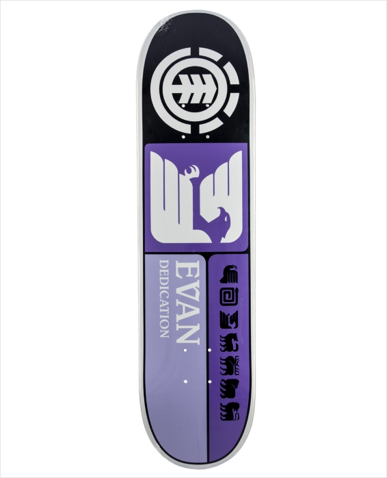 "Shape Element - Thriftwood Evan Prismatic 8.0""  - No Comply Skate Shop"