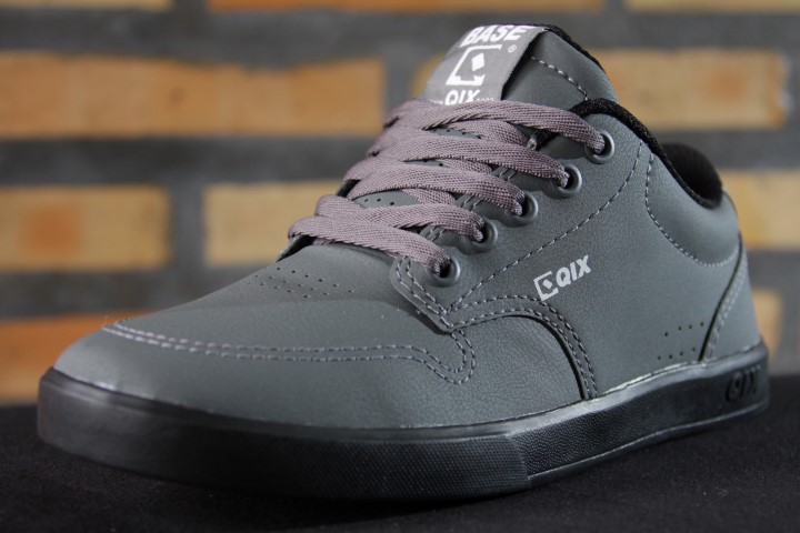 Tênis Qix - Base Cinza/Preto  - No Comply Skate Shop