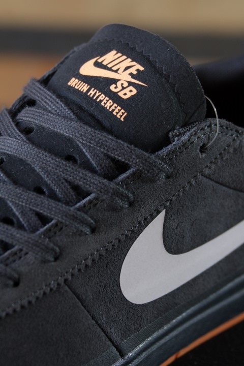 Tênis Nike SB - Bruin Hyperfeel XT Anthracite/White-Clay Orange  - No Comply Skate Shop