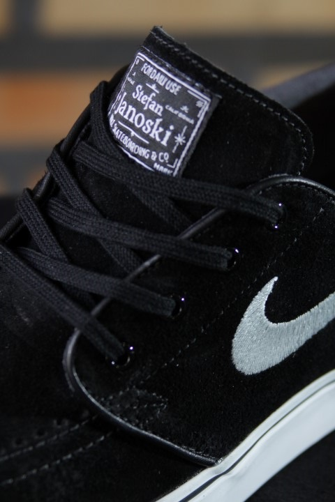 Tênis Nike SB - Zoom Stefan Janoski Black/White  - No Comply Skate Shop