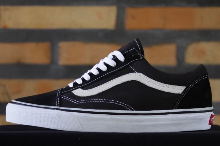 Tênis Vans - Old Skool Black/White  - No Comply Skate Shop