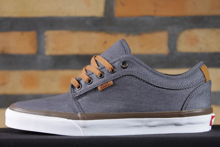 Tênis Vans - M Chukka Low Pro (Denim) Pewter  - No Comply Skate Shop