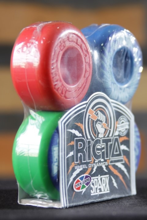 Roda Ricta - Sparx Shockwaves Mix Up 53mm  - No Comply Skate Shop