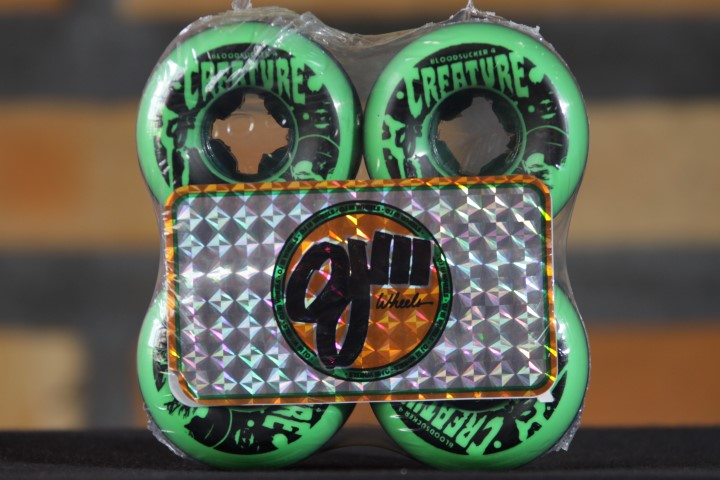 Roda OJ - Creature Bloodsuckers Green Black 52mm  - No Comply Skate Shop
