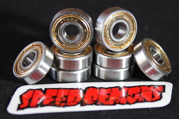 Rolamento Speed Demons Abec 7  - No Comply Skate Shop