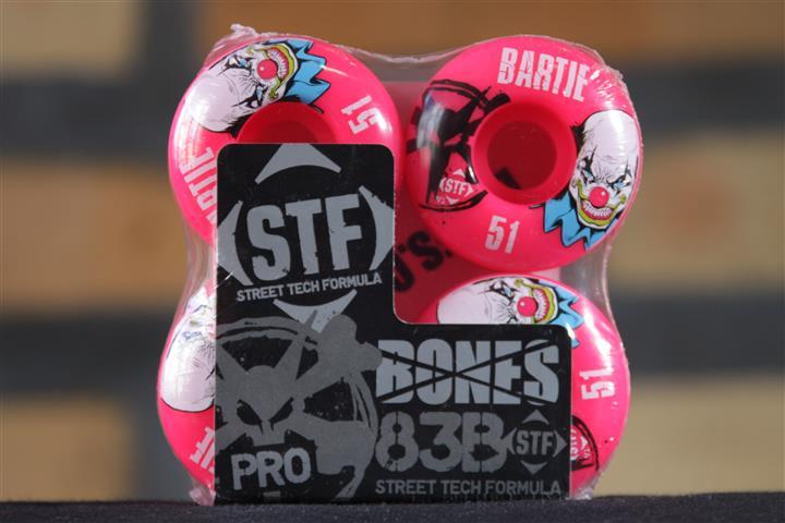 Roda Bones - STF Streettech V2 Bartie 51mm  - No Comply Skate Shop