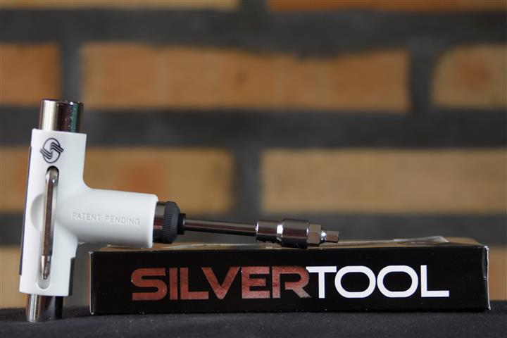 Silver Tool - White Tool  - No Comply Skate Shop