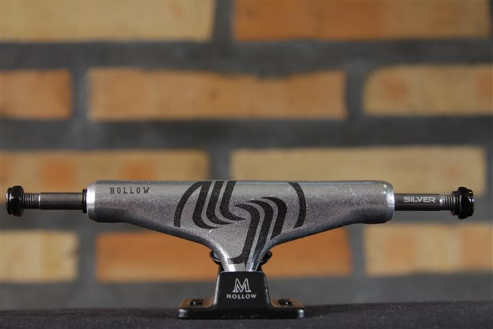 Truck Silver M-Hollow Raw 8.0  - No Comply Skate Shop