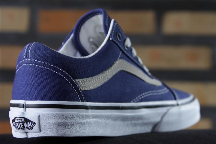 Tênis Vans - Old Skool Twilight Blue/True White  - No Comply Skate Shop