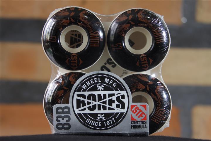 Roda Bones - STF Streettech V1 Smith Splat 52mm  - No Comply Skate Shop
