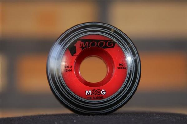 Roda Moog - Records Dual Core Studio One 52mm  - No Comply Skate Shop