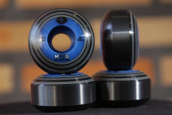 Roda Moog - Records Dual Core Blue Cat 51mm - No Comply Skate Shop