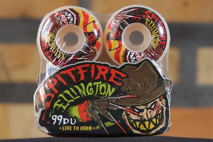 Roda Spitfire - Ellington Sweet Dreams White 53mm  - No Comply Skate Shop