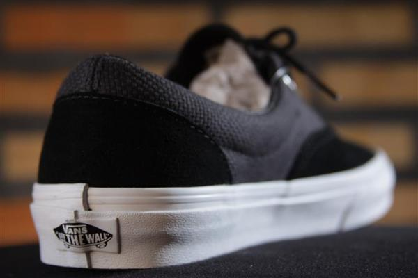 Tênis Vans - U Era Black/True White (Hemp)  - No Comply Skate Shop