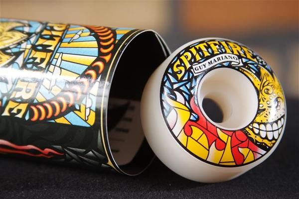Roda Spitfire - F1 SF Guy Mariano Praise 53mm  - No Comply Skate Shop