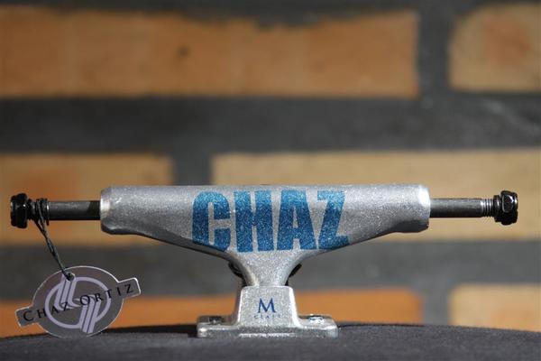 "Truck Silver M Class Pro Chaz Ortiz Bold 7.75""  - No Comply Skate Shop"