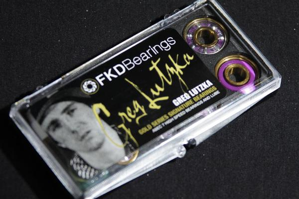 Rolamento FKD Bearings - Greg Lutzka Clear Abec 7  - No Comply Skate Shop