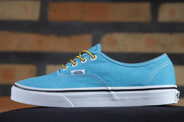 Tênis Vans - U Authentic Hawaiian Ocean (Washed)  - No Comply Skate Shop