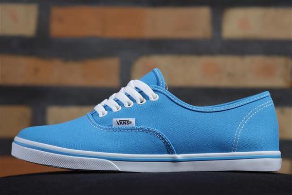 Tênis Vans - U Authentic Lo Pro Blue (Neon)  - No Comply Skate Shop