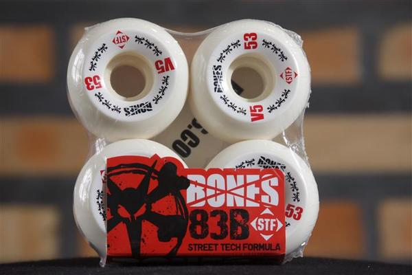 Roda Bones - STF Streettech V5 53mm  - No Comply Skate Shop