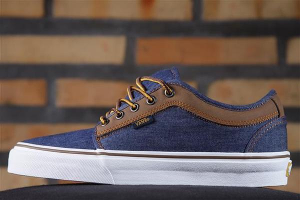 Tênis Vans - M Chukka Low Denim/Brown (Leather)  - No Comply Skate Shop