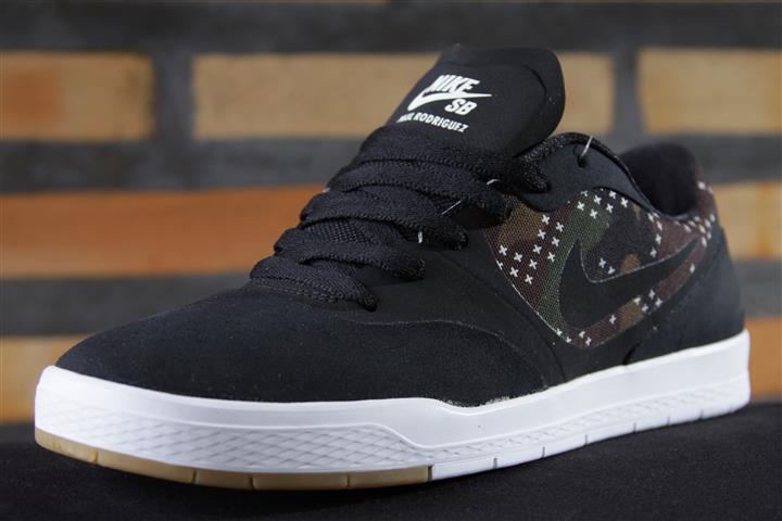 Tênis Vans - Paul Rodriguez 9 CS Black/Black-Medium Olive  - No Comply Skate Shop
