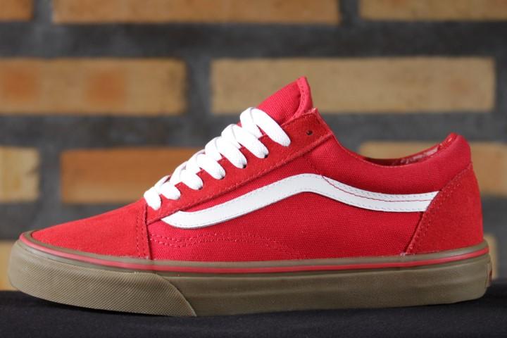 Tênis Vans - Old Skool (Gumsole) Formula One/Medium Gum  - No Comply Skate Shop