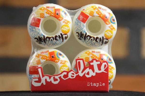 Roda Chocolate - Pile Up 51mm  - No Comply Skate Shop