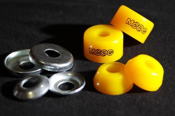 Amortecedor Plano + Arruela Moog 90A  - No Comply Skate Shop
