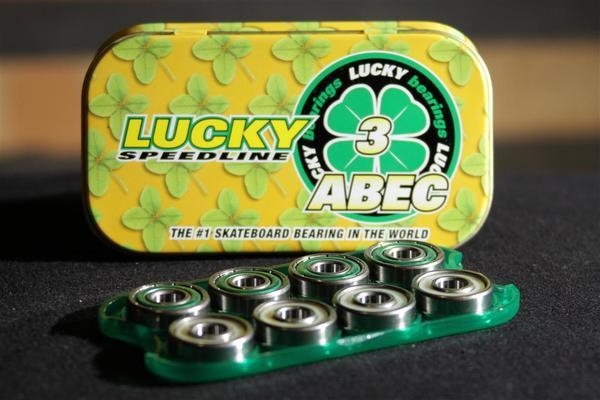 Rolamento Lucky Abec 3  - No Comply Skate Shop