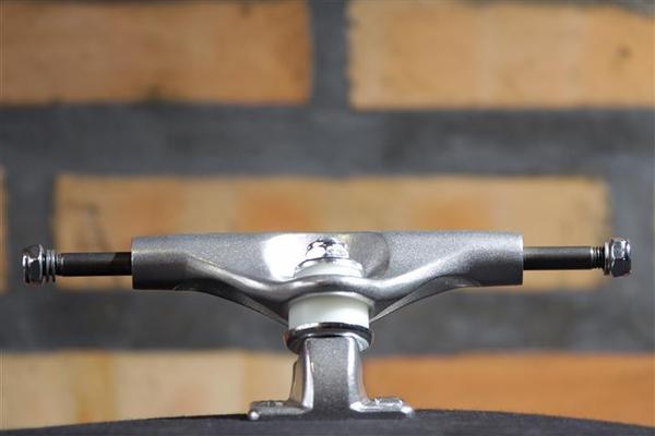 Truck Metallum 129 Silver  - No Comply Skate Shop