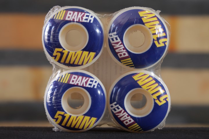 Roda Baker - Pit Stop Wheels 51mm  - No Comply Skate Shop