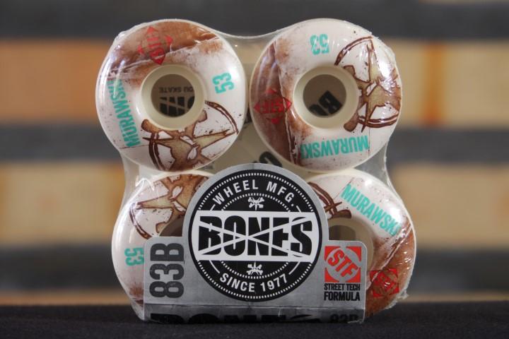 Roda Bones - STF V1 Murawski Vintage 53mm  - No Comply Skate Shop