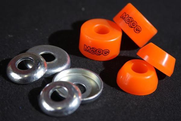 Amortecedor Plano + Arruela Moog 85A  - No Comply Skate Shop