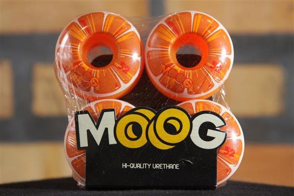 Roda Moog Citrus Laranja 52mm  - No Comply Skate Shop