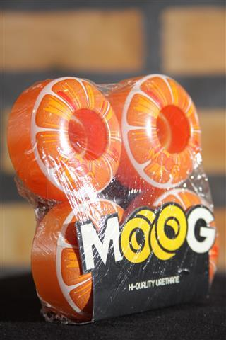 Roda Moog Citrus Laranja 52mm - No Comply Skate Shop