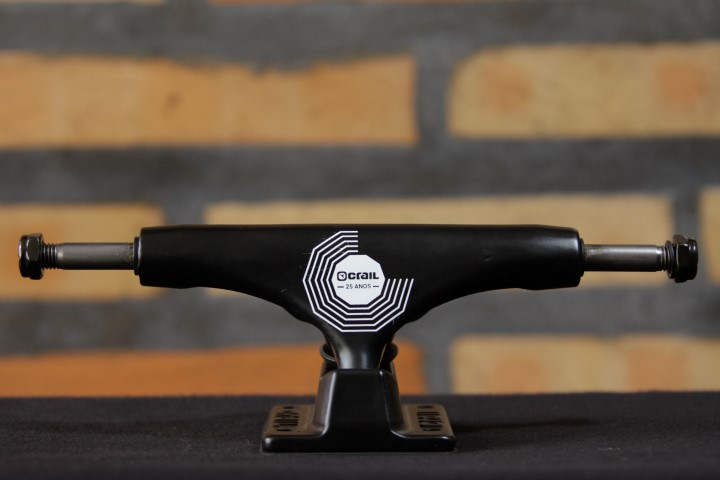 Truck Crail Mid 127 25 Anos All Black  - No Comply Skate Shop