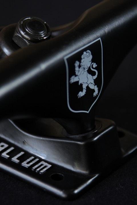 Truck Metallum 129 Low Naccarato Black  - No Comply Skate Shop