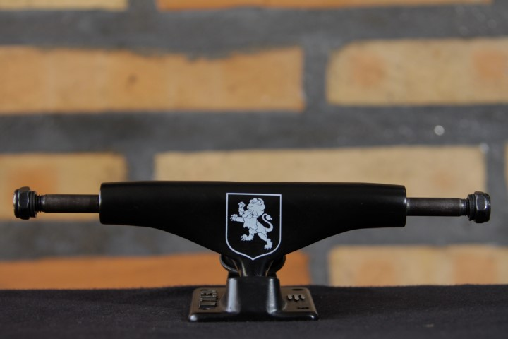 Truck Metallum 129 Low Naccarato Black  - No Comply Skate Shop