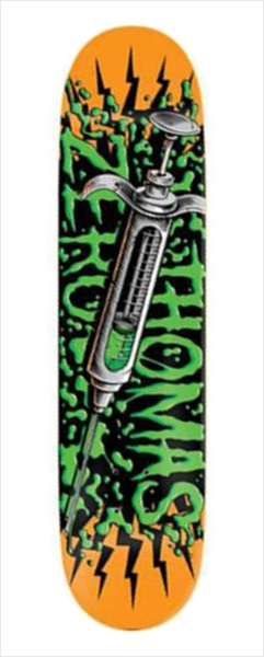 "Shape Zero - Thomas Lethal Injection 8.125""  - No Comply Skate Shop"