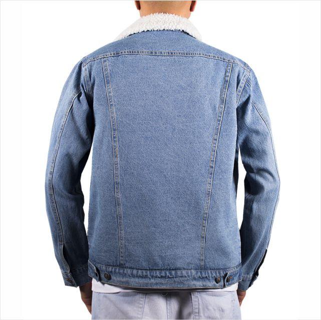 Jaqueta Rip Curl - Angus Denim Jacket Mid Blue  - No Comply Skate Shop