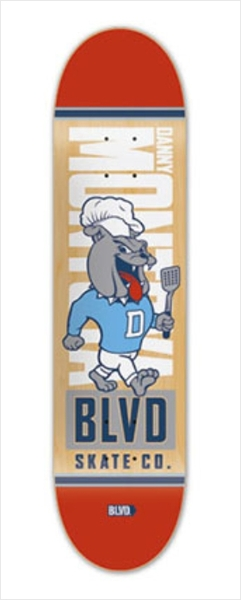 "Shape Boulevard - Mascot Danny Montoya 8.2""  - No Comply Skate Shop"